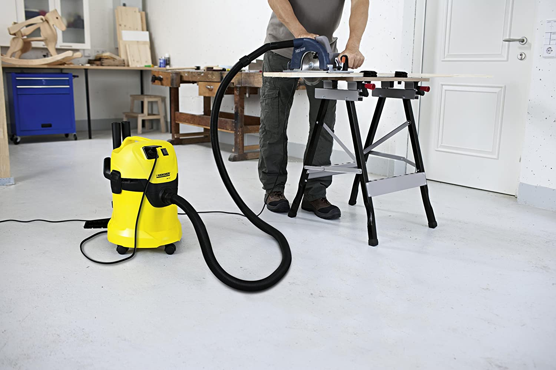 Kärcher WD3P - Aspirador de agua y polvo (1000 W)